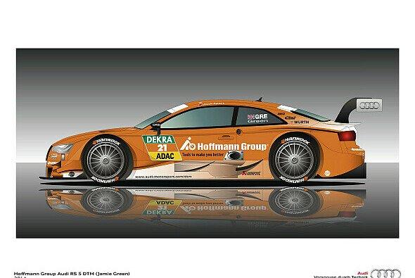 Jamie Greens Audi im neuen Design
