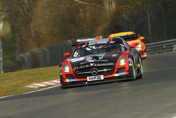 Der Mercedes SLS ist für Christian Menzel Neuland