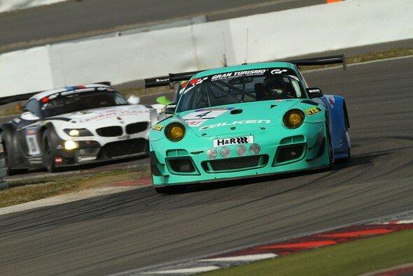 Für den Falken-Porsche ist das Wochenende vorzeitig beendet