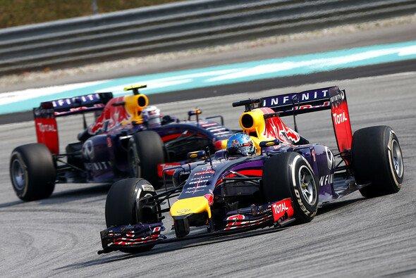 Sebastian Vettel zeigt die Schwächen von Red Bull auf
