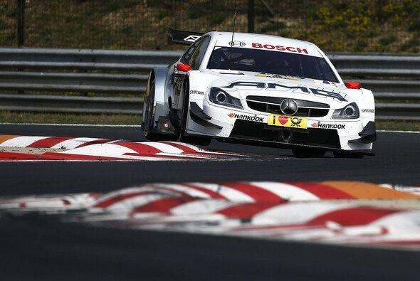 Paul di Resta bei offiziellen DTM-Probefahrten auf dem Hungaroring