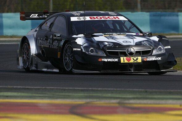 Christian Vietoris war am Donnerstag der schnellste Pilot