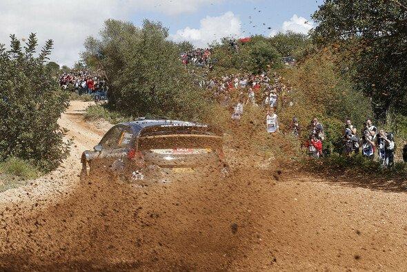Mikko Hirvonen führt in Portugal