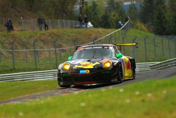 Der schwarze Haribo-Porsche ist dieses Jahr nochmals stärker besetzt