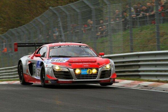 Auf dem Audi mit der Startnummer 502 wird viel mediale Aufmerksamkeit liegen