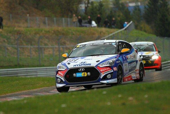 Für den Hyundai Veloster lief das Rennen wie geplant