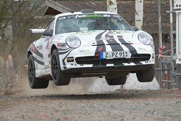 Ruben Zeltner kann sich die Führung bei der nächsten Rallye schnappen