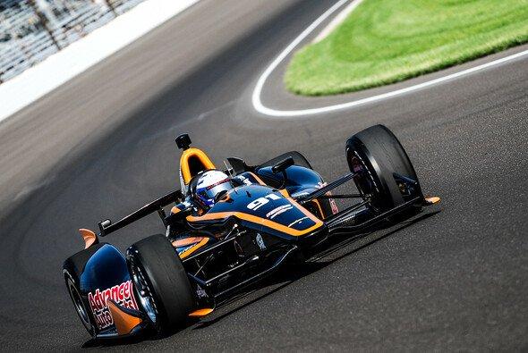 Buddy Lazier nimmt das Indy 500 unter die Räder