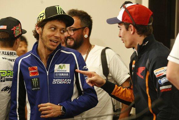 Valentino Rossi und Marc Marquez erfuhren die Leidenschaft der argentinischen MotoGP-Fans am eigenen Leib