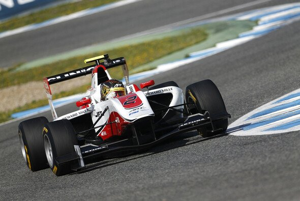 Marvin bestreitet am kommenden Wochenende sein 2. Rennwochenende mit der GP3
