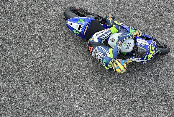 Valentino Rossi tüftelte lange an seinem Bike herum