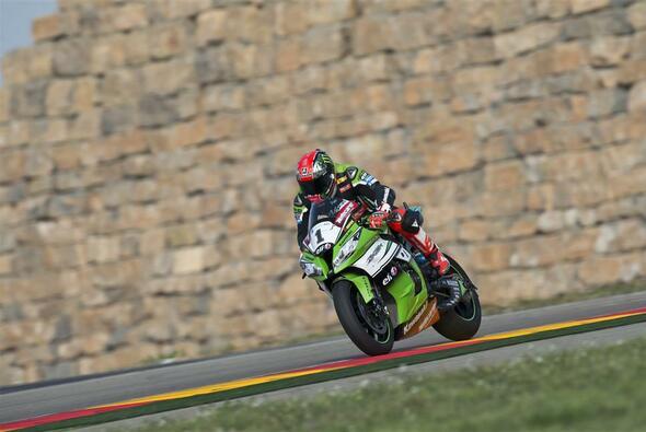 Tom Sykes gewann 2014 beide Rennen in Aragon - Foto: Kawasaki