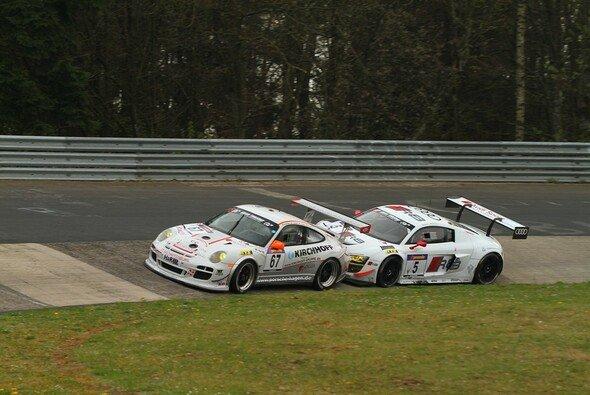 Trotz Druck von hinten: Der Cup-Porsche fuhr ein ruhiges Rennen