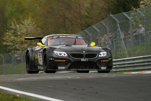 Christopher Brück erlebte eine erfolgreiche Premiere im BMW Z4 GT3
