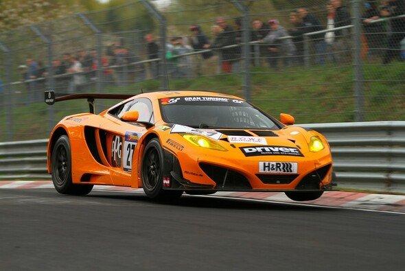 Der McLaren erreichte als Zwölfter das Ziel