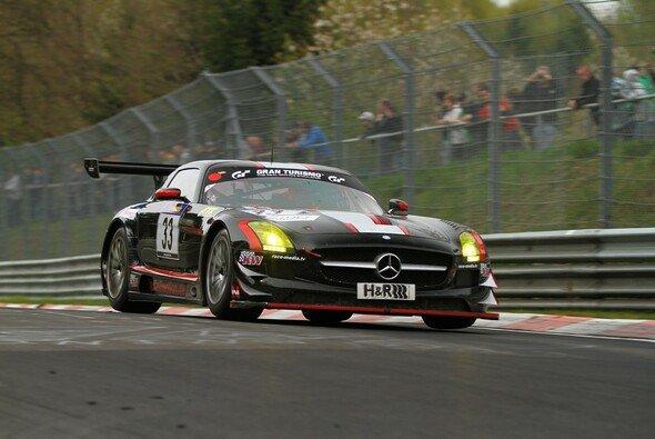 Erfolgreiches Rennen für den SLS von Car Collection