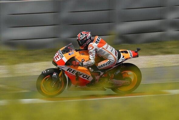 Marc Marquez steht zum dritten Mal in Folge auf Pole Position
