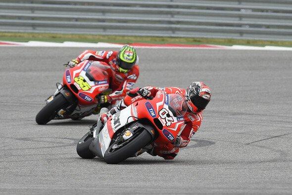 Ducati ist in Jerez wieder mit der Stammbesetzung Dovizioso und Crutchlow am Start - Foto: Ducati