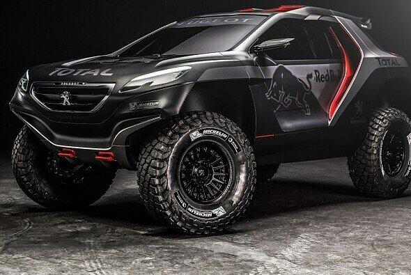 Der neue Peugeot mutet fast wie ein Monster Truck an
