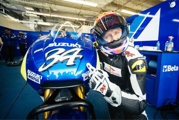 Kevin Schwantz ist Suzuki bis heute treu - Foto: Suzuki