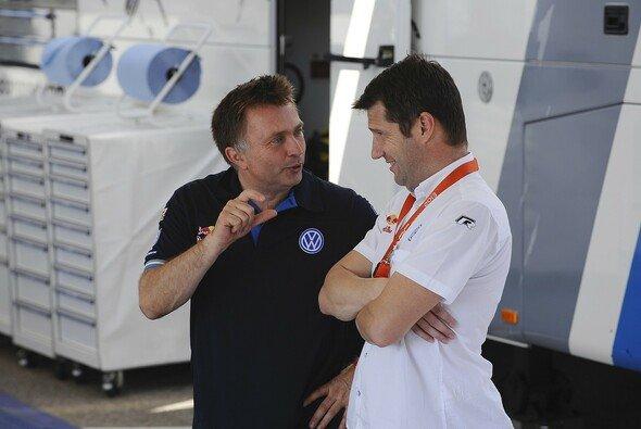 Williams-CEO Jost Capito holt seinen alten VW-Kollegen François-Xavier Demaison zu Williams - Foto: Volkswagen Motorsport