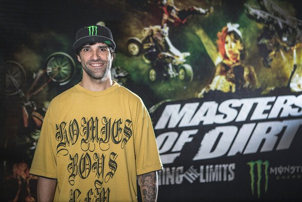 Edgar Torronteras fährt seit über 20 Jahren Freestyle-Motocross - Foto: Monster