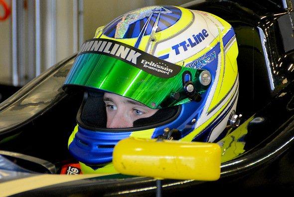 Joel Eriksson fuhr bislang im Kart und gewann 2013 die Schwedische Meisterschaft