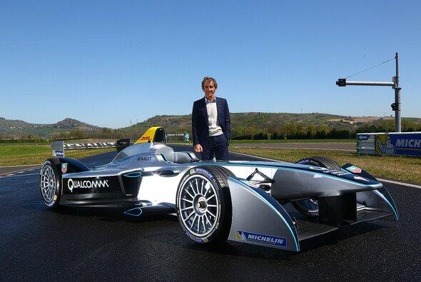Alain Prost steigt mit dem Rennstall DAMS in die Formel E ein