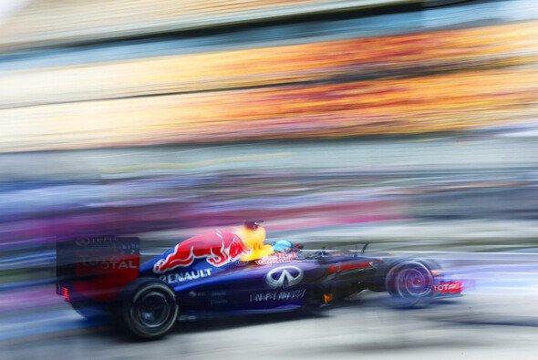 Bei Sebastian Vettel läuft noch nciht alles rund