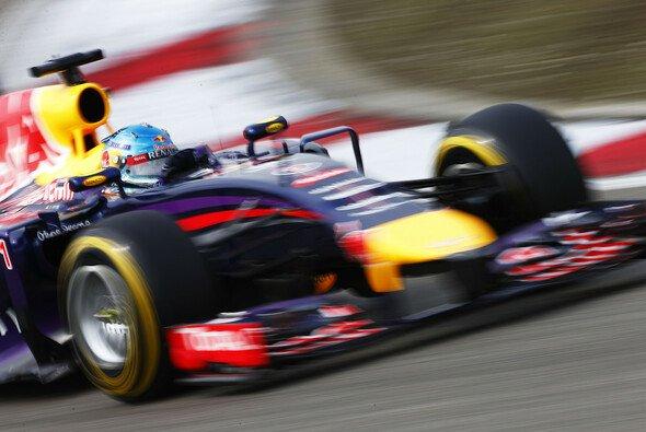 Vettel hat mit dem Auto zu kämpfen
