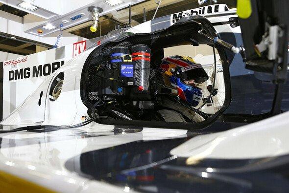 Mark Webber im Porsche 919 hybrid
