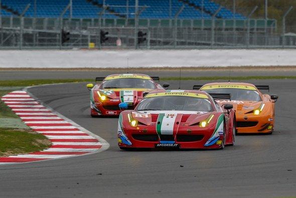Cavallino rampante wohin man schaut: Ferrari stellt 2014 mehr als die Hälfte der GTE-Am-Fahrzeuge