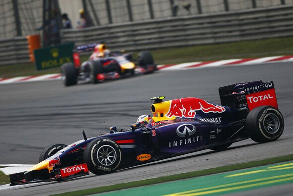Daniel Ricciardo war in China klar der schnellere Red Bull
