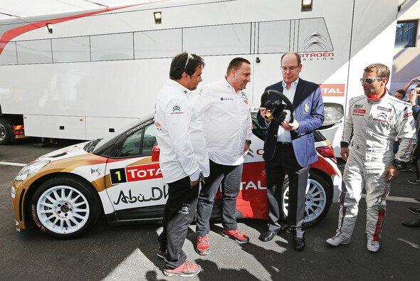Fürst Albert II stattete Citroen am Circuit Paul Ricard einen Besuch ab