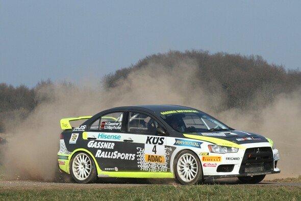 Hermann Gaßner junior siegte im Favoritenduell der ADAC Hessen Rallye