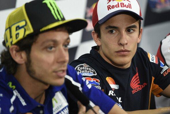 Valentino Rossi sieht Marc Marquez als seinen Nachfolger