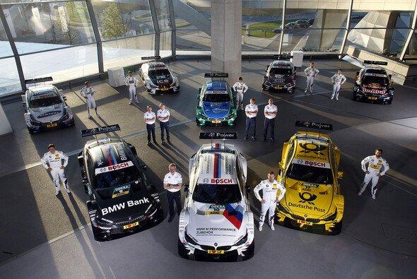 Die BMW-DTM-Schützlinge versammelt in München