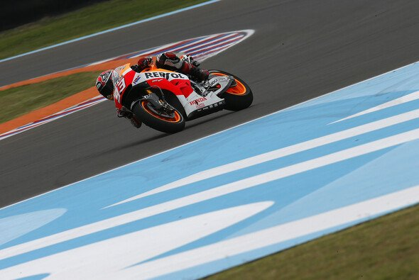 Marc Marquez blieb immer cool