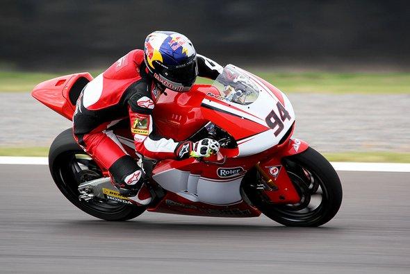 Jonas Folger ließ die arrivierten Moto2-Piloten erneut hinter sich