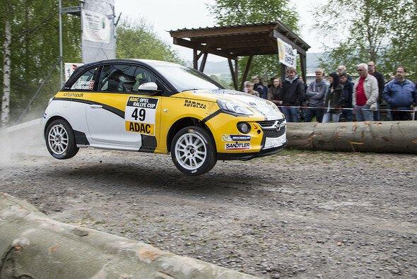 Am Wochenende geht es im ADAC Opel Rallye Cup wieder zur Sache