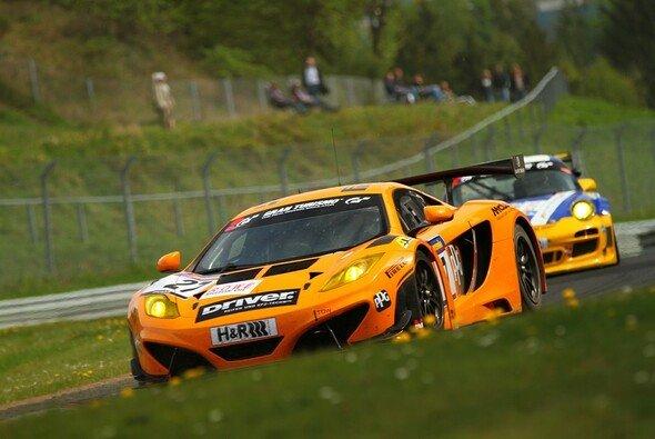 Der McLaren erreichte als Zweiter das Ziel
