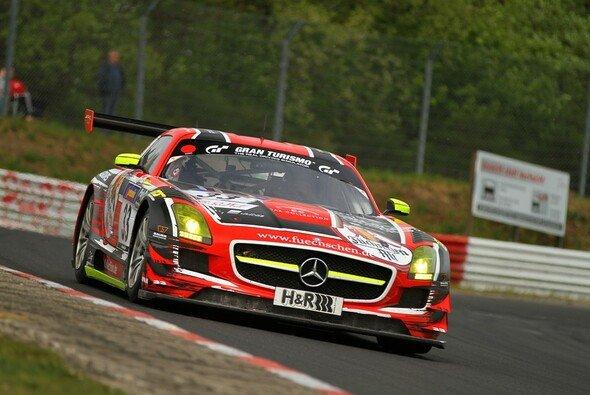 Der Mercedes-Benz SLS AMG GT3 im neuen Design