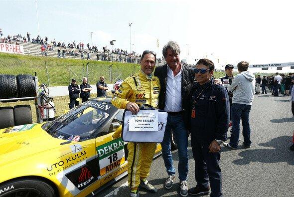 Auch ADAC Sportpräsident Hermann Tomczyk gab sich die Ehre