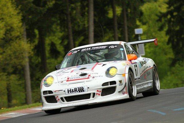 Der Cup-Porsche von Pole Racing erreichte erneut die Top-Ten