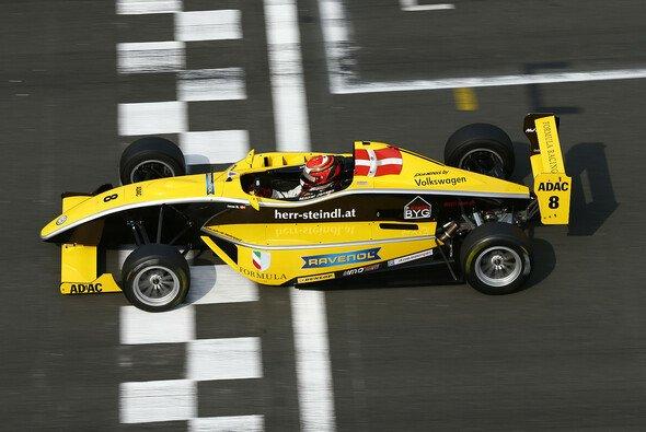 Auch am Hockenheimring siegreich: Mikkel Jensen - Foto: ADAC Formel Masters