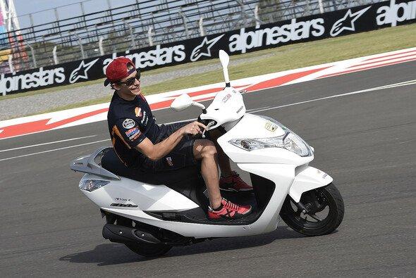 Marc Marquez hätte in Argentinien wohl auch auf einem Scooter gewonnen