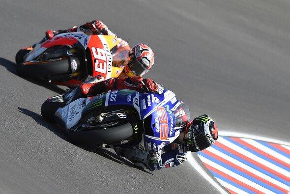 Nur selten hatten Jorge Lorenzo und Yamaha in dieser Saison die Nase vorne
