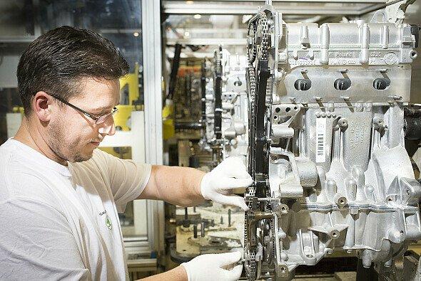 Neben dem Motorenbau liegt der Schwerpunkt der Skoda Komponentenfertigung in der Getriebe-Produktion