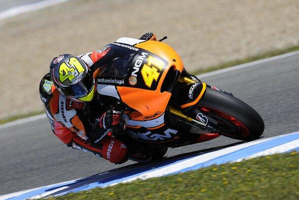 Aleix Espargaro überzeugte am Freitag in Jerez mit deutlicher Bestzeit