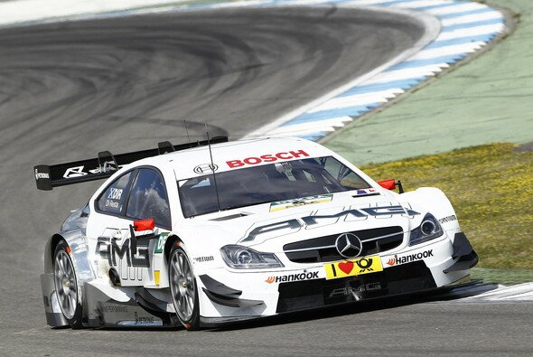 Paul Di Resta, DTM Mercedes AMG C-Coupé - Foto: Mercedes-Benz
